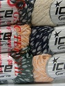 Fiber Content 68% Viscose, 32% Polyamide, Mixed Lot, Brand ICE, fnt2-38450