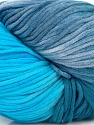 In this yarn a 100% Cotton lase yarn is used. Dyeing process is totally hand made with natural plants and NO chemicals were used. For this reason, please be advised that some white parts may remain. Fiber Content 100% Cotton, White, Brand ICE, Blue Shades, Yarn Thickness 3 Light  DK, Light, Worsted, fnt2-39231