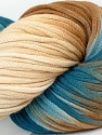 In this yarn a 100% Cotton lase yarn is used. Dyeing process is totally hand made with natural plants and NO chemicals were used. For this reason, please be advised that some white parts may remain. Fiber Content 100% Cotton, White, Navy, Brand ICE, Brown, Yarn Thickness 3 Light  DK, Light, Worsted, fnt2-39232