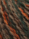 Fiber Content 35% Acrylic, 30% Wool, 25% Alpaca, 10% Polyamide, Brand ICE, Dark Green, Copper, Brown, Yarn Thickness 5 Bulky  Chunky, Craft, Rug, fnt2-39737