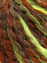 Fiber Content 35% Acrylic, 30% Wool, 25% Alpaca, 10% Polyamide, Neon Yellow, Brand ICE, Copper, Brown, Yarn Thickness 5 Bulky  Chunky, Craft, Rug, fnt2-39740