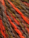 Fiber Content 35% Acrylic, 30% Wool, 25% Alpaca, 10% Polyamide, Olive Green, Neon Orange, Brand ICE, Camel, Yarn Thickness 5 Bulky  Chunky, Craft, Rug, fnt2-39741