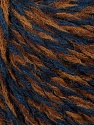 Fiber Content 65% Acrylic, 15% Alpaca, 10% Viscose, 10% Wool, Navy, Brand ICE, Brown Shades, Blue, Yarn Thickness 3 Light  DK, Light, Worsted, fnt2-39819