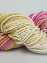 In this yarn a 100% Cotton lase yarn is used. Dyeing process is totally hand made with natural plants and NO chemicals were used. For this reason, please be advised that some white parts may remain. Fiber Content 100% Cotton, White, Pink, Brand ICE, Green, Camel, Yarn Thickness 2 Fine  Sport, Baby, fnt2-40345