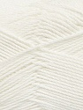 Fiber Content 50% Viscose, 50% Bamboo, White, Brand Ice Yarns, Yarn Thickness 2 Fine  Sport, Baby, fnt2-43031
