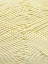 Fiber Content 50% Viscose, 50% Bamboo, Light Yellow, Brand Ice Yarns, Yarn Thickness 2 Fine  Sport, Baby, fnt2-43036