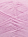Fiber Content 50% Viscose, 50% Bamboo, Light Pink, Brand Ice Yarns, Yarn Thickness 2 Fine  Sport, Baby, fnt2-43039