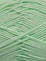 Fiber Content 50% Viscose, 50% Bamboo, Light Green, Brand Ice Yarns, Yarn Thickness 2 Fine  Sport, Baby, fnt2-43135