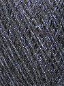 Fiber Content 70% Viscose, 30% Metallic Lurex, Silver, Brand Ice Yarns, Grey, fnt2-43754