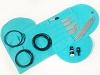 Turquoise Pony Complete Ultimate Knitting Chrochet Set