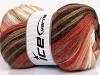 Mohair Magic White Salmon Shades Brown Shades