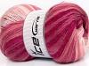Mohair Magic White Pink Shades