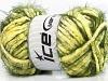 Techno Chenille Yellow Green