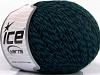 Wool Fine 30 Turquoise Black