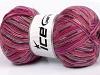 Bamboo Sock Pink Shades Lilac Brown