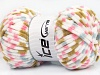 Chenille Baby Colors White Pink Olive Green Blue