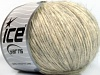 Alpaca Cotton Light Grey Cream