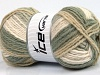Design Wool Worsted Khaki Grey Cream Beige