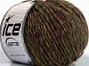 Wool Cord Aran Purple Green Blue