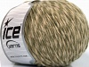 Wool Cord Aran Khaki Cream