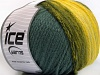 Air Wool Color Yellow Grey Green