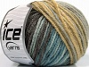 Sale Self-Striping Cream Brown Blue Beige