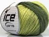 Soft Chain Wool Green Shades