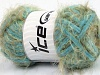 Techno Chenille Turquoise Khaki