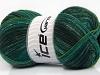 Sale Sock Yarn Green Shades