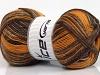 Sale Sock Yarn Gold Brown Shades