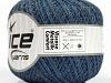 Viscose Metallic Comfort Silver Blue