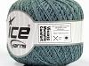 Viscose Metallic Comfort Silver Light Turquoise