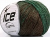 Soft Chain Wool Green Brown