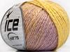 Soft Chain Wool Yellow Lilac