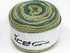 Cakes Wool Light Glitz Teal Green Shades Beige