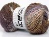 Primadonna Glitz Lilac Cream Brown