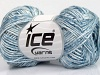 SoftAcryl Melange White Light Blue