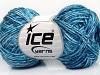 SoftAcryl Melange White Turquoise Blue