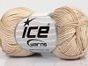 Cotton Fine Melange Beige