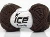 Natural Cotton Fine Dark Brown