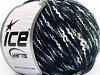 Folco Cotton Mohair White Navy Blue
