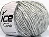 Wool Cord Aran Grey Melange