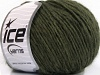 Wool Cord Aran Dark Green
