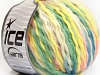 Pure Wool Chunky Yellow White Pink Green Blue