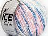 Pastel Cotton White Light Pink Blue Shades