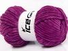 Chenille Aran Purple