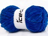 Chenille Aran Blue