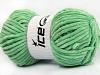 Chenille Aran Mint Green