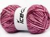Wool Melange Pink Shades Maroon
