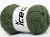 Silk Merino DK Dark Green